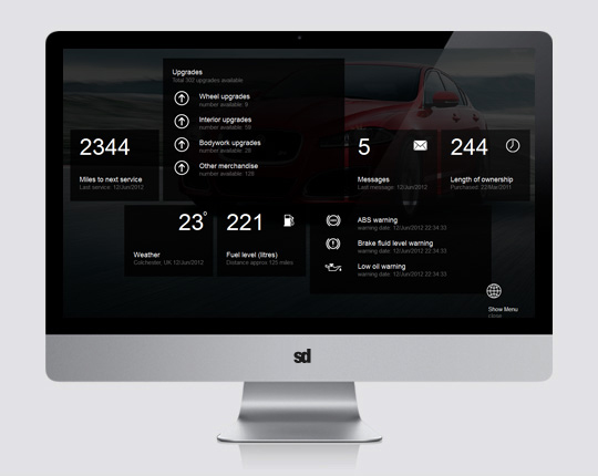 Car Emanual User Interface Ux Design And Graphic Design