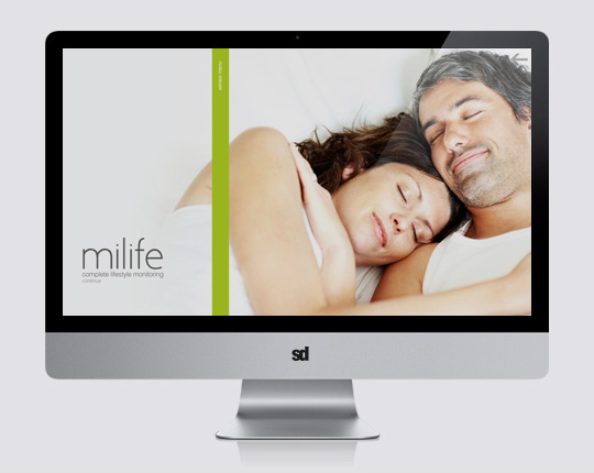 milife UX home page